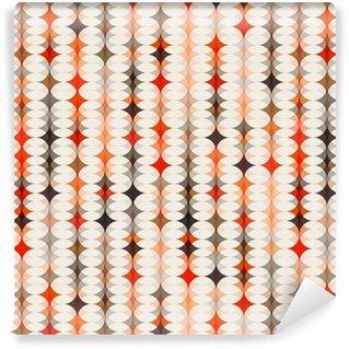 Vinil Duvar Kağıdı Sorunsuz model turuncu arka plan