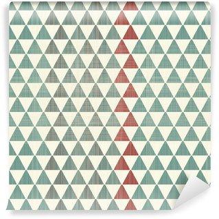 Vinil Duvar Kağıdı Soyut dokular sorunsuz desen üçgenler