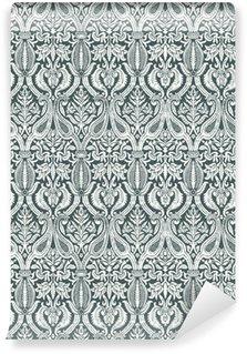 Vinil Duvar Kağıdı Vektör sorunsuz çiçek şam model klasik soyut backgroun