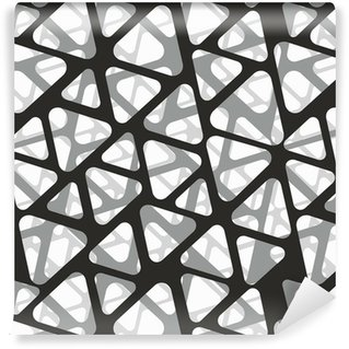 Vinil Duvar Kağıdı Vektör sorunsuz desen. mesh modern, şık 3d doku.
