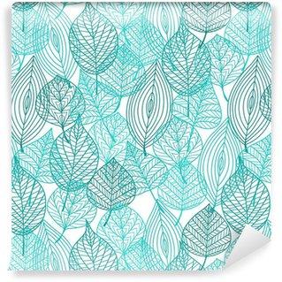 Pixerstick Duvar Kağıdı Yeşil yeşillik kesintisiz desen bırakır