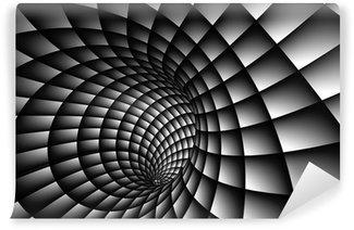 Vinil Duvar Resmi 3D Özet Spiral