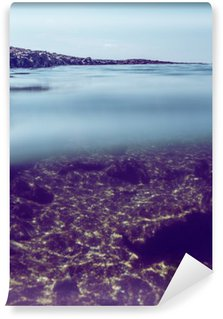 Vinil Duvar Resmi Akdeniz deniz