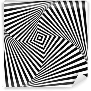 Vinil Duvar Resmi Arkaplan optik yanılsama