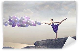 Vinil Duvar Resmi Balonlar