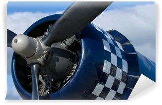 Vinil Duvar Resmi Bir F-4U Corsair warbird Motor