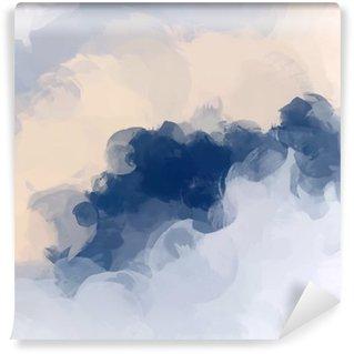 Vinil Duvar Resmi Bulutlar arka plan