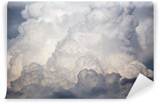 Vinil Duvar Resmi Büyük bulutlar fırtına