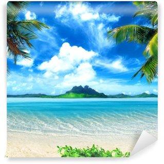 Vinil Duvar Resmi Büyülü sahil