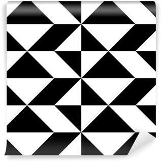 Vinil Duvar Resmi Dikişsiz Ambalaj Kağıt Tasarımı. Özet Modern Geometrik Arkaplan