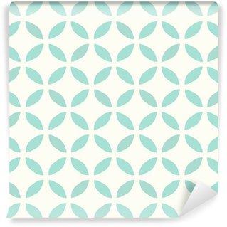 Vinil Duvar Resmi Dikişsiz Desen. Elle çizilmiş. Çiçek. Arka plan tasarımı