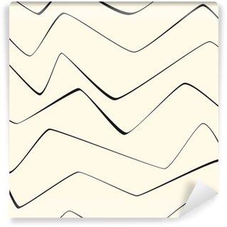 Vinil Duvar Resmi Dikişsiz tekrarlayın Minimal çizgiler soyut çizgili kağıt, tekstil, kumaş deseni