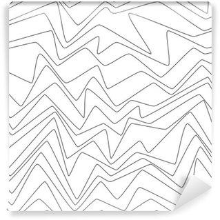 Vinil Duvar Resmi Dikişsiz tekrarlayın Minimal çizgiler soyut strpes kağıt dokuma kumaş desen