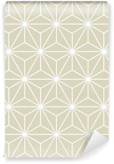 Vinil Duvar Resmi Dikişsiz Vektör Geometrik Desen Doku