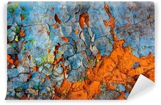 Vinil Duvar Resmi Eski boyalı duvar