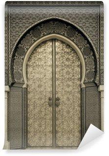 Vinil Duvar Resmi Eski kapılar, Fas