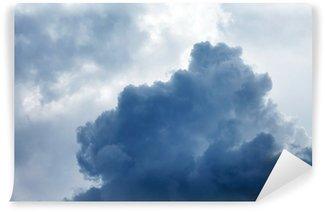 Vinil Duvar Resmi Fırtınalı bulutlar dramatik gökyüzü