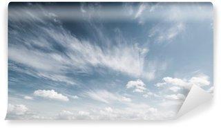 Vinil Duvar Resmi Gökyüzü ve bulutlar arka plan atmosfer