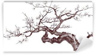 Vinil Duvar Resmi Kiraz ağacı