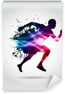 Vinil Duvar Resmi Koşu, Maraton