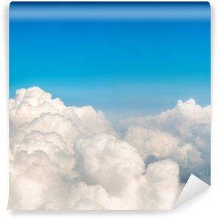 Vinil Duvar Resmi Mavi bulutlar ve gökyüzü