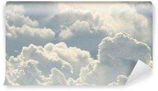 Vinil Duvar Resmi Mavi gökyüzü ve güzel bulutlar