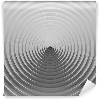 Vinil Duvar Resmi Op sanat tarzında soyut geometrik görüntü