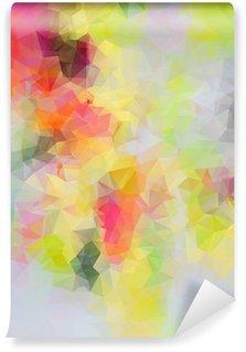 Vinil Duvar Resmi Özet üçgen arka plan