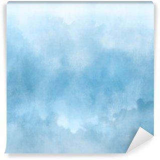 Vinil Duvar Resmi Renkli suluboya El dokular için soyut bir arka plan boyalı