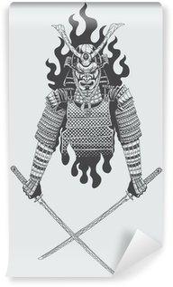 Vinil Duvar Resmi Samuray