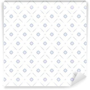 Vinil Duvar Resmi Seamless floral pattern