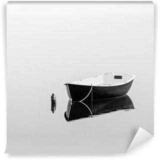 Vinil Duvar Resmi Siyah kayık