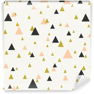 Vinil Duvar Resmi Soyut geometrik seamless pattern