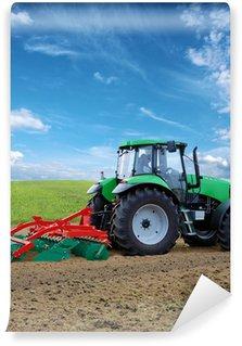 Vinil Duvar Resmi Traktor