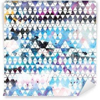 Vinil Duvar Resmi Tribal galaksi seamless pattern.
