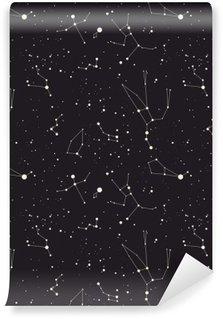 Vinil Duvar Resmi Yıldız takımyıldızı vektör