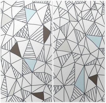 Abstrakcyjna powtarzalny doodle wzór