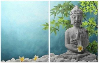 Dyptyk Buddy w medytacji