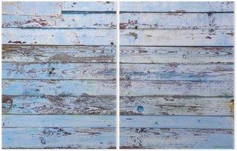 Dyptyk Drewniane tło