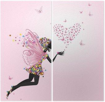 Fairy z valentine motyli