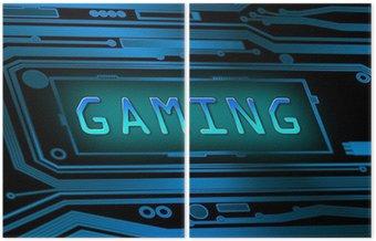 Dyptyk Gaming koncepcja.