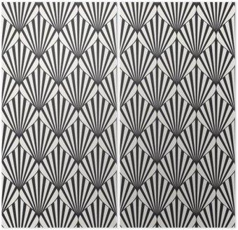 Dyptyk Geometryczny wzór powtarzalne