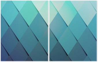 Dyptyk Hipster kolor tła wzór biznes
