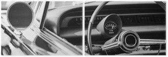 Dyptyk Klasyczny samochód