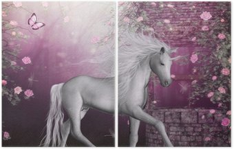 Dyptyk Last Unicorn