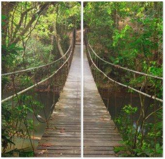 Dyptyk Most do dżungli, park narodowy Khao Yai, Tajlandia