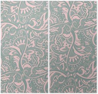 Paisley powtarzalny wzór