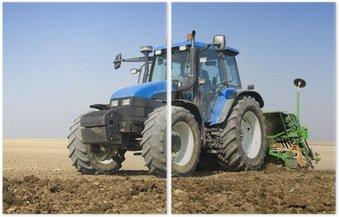 Dyptyk Rolnictwo - Ciągniki
