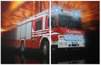 Dyptyk Straż Pożarna