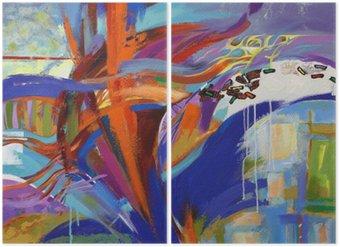 Dyptyk Sztuki abstrakcji
